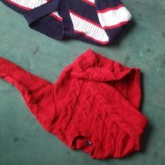 长期出售羊毛衫粗细羊毛和各种毛衣开发料颜色