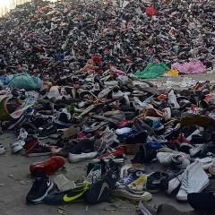 大量回收出口对鞋厂垃圾鞋,价格高