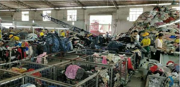 旧衣服回收工厂