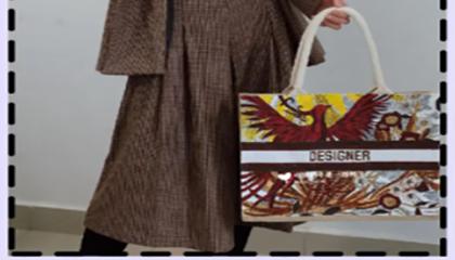 旧包包如何改造成dior托特包同款