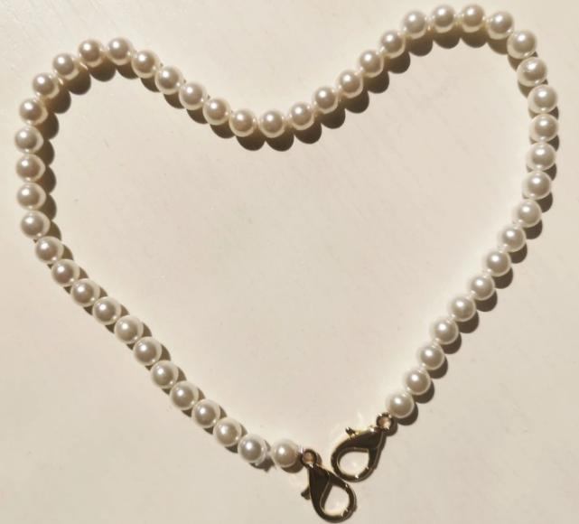 旧衣服珍珠吊带