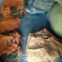 微破损纯棉短袖短裤2吨