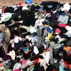 高价回收旧衣服统货,小区货,募捐货,邮包货