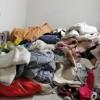 大量出售旧衣服